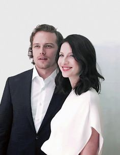 Sam Heughan and Caitriona Balfe | Press Tour | Los Angeles April 1, 2016