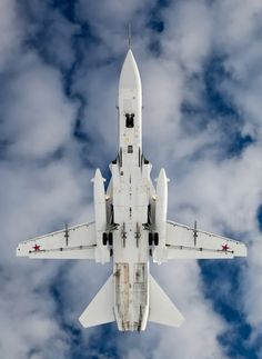 Russian fighter Sukhoi Su-24 Fencer