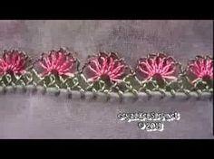 El İşi Bahar Çiçeği İğne Oyası Örneği 89 - YouTube