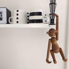 houten aap