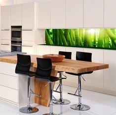 Glas küchenrückwand fliesenspiegel  glas küchenrückwand spritzschutz küche glaswand | Spritzschutz ...