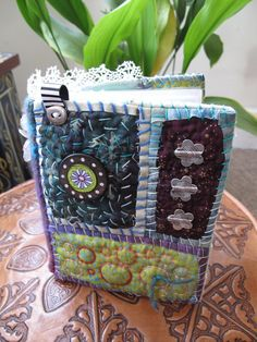 Awesome quilty book by Georgina Ferrans
