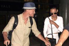 Naya Rivera and her husband Ryan Dorsey return from Cabo