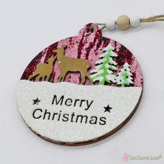 Ξύλινο χριστουγεννιάτικο στολίδι μπάλα με ελαφάκια Merry Christmas Wooden Products, Merry Christmas, Christmas Ornaments, Decoration, Holiday Decor, Merry Little Christmas, Decor, Christmas Jewelry, Wish You Merry Christmas