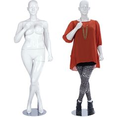 $225.00 Abstract Mannequin Plus Size-