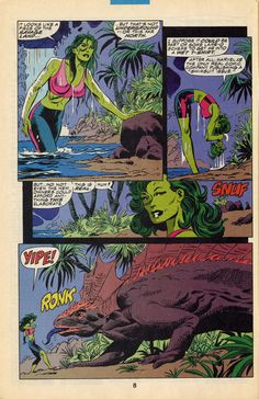 Byrne Robotics: JBF Reading club : The Sensational She-Hulk # 32
