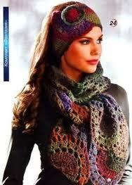 pinterest tejidos bufandas - Buscar con Google