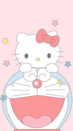 Hello Kitty Iphone Wallpaper, Cute Panda Wallpaper, Sanrio Wallpaper, Cute Patterns Wallpaper, Cartoon Caracters, Doremon Cartoon, Cute Cartoon Drawings, Doraemon Wallpapers, Panda Wallpapers