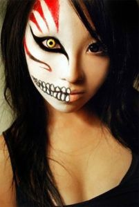 idea trucco halloween bambola rotta halloween pinterest black style and hallows eve - Easy But Scary Halloween Makeup