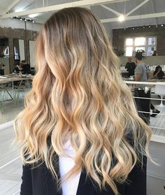 New hair goals ombre balayage cut and color 18 ideas Blonde Hair Looks, 100 Human Hair Wigs, Blonde Balayage, Hair Bayalage, Blonde Highlights, Bad Hair, Ombre Hair, Wig Hairstyles, Hair Trends