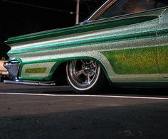 Sparkly low rider...yeah, buddy! Livin' life in the 805