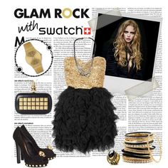 """""""Glam Rock with Swatch"""" by cellophaneflower on Polyvore"""