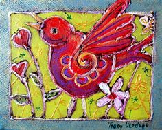 """I want to sing like the birds sing, not worrying about who hears or what they think."""" ~Rumi   http://artoftracyverdugo.blogspot.com/"""