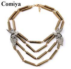 Поп воздушными горный хрусталь птицы экрана helix цепь много   строка ожерелье много   слои золото цепочки ожерелье ожерелья для женщины винтажный бижутериикупить в магазине Qingdao Comiya Fashion Jewelry Co., Ltd.наAliExpress
