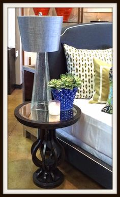 How to decorate your nightstand {hello metro blog}