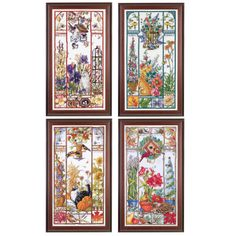 All Four Seasons Cat Samplers - Cross Stitch, Needlepoint, Stitchery, and Embroidery Kits, Projects, and Needlecraft Tools | Stitchery