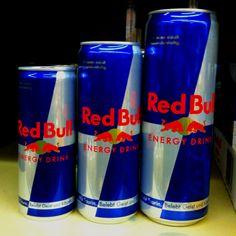 Red Bull Small, medium, large