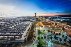 I camped out in the old tower at LAX for 8 hours and photographed every departure... - FlyerTalk Forums