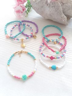 Hobby to Business – Marketing Your Crystal Jewelry Diy Bracelets Easy, Bracelet Crafts, Cute Bracelets, Handmade Bracelets, Handmade Jewelry, Kids Jewelry, Cute Jewelry, Jewelry Crafts, Friendship Bracelets With Beads