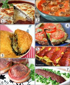 PANELATERAPIA - Blog de Culinária, Gastronomia e Receitas: Especial Carne Moída Criativa
