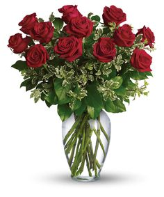 Always on My Mind - Long Stemmed Red Roses Bouquet - Teleflora # birthday flower delivery Always on My Mind - Long Stemmed Red Roses Bouquet Send Roses, 12 Roses, Dozen Red Roses, Birthday Flower Delivery, Best Flower Delivery, Fresh Flowers, Beautiful Flowers, City Flowers, Bonito