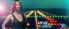 Banner f?rs Abflug-Festival 2014