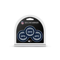 New! Seattle Seahawks Golf Chip with Marker 3 Pack #SeattleSeahawks