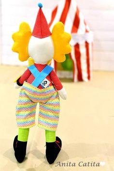 Clown, palhaços, feltro, circo, party