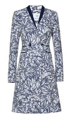 Dopasowany płaszcz we wzór ARYTON wiosna-lato 2014