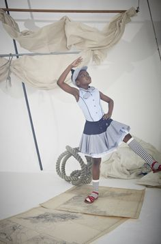 S/S'15 Jessie and James Campaign (Circle Skirt and Bow Tie Top)