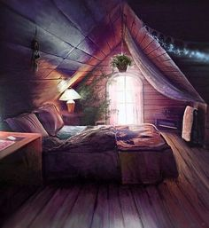 25 Dreamy Attic Bedrooms. Messagenote.com Bedroom Design Furniture and Decorating Idea