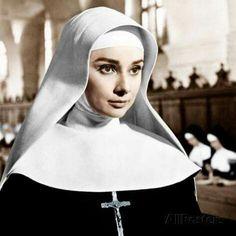 """Audrey Hepburn in """"The Nun's Story"""", 1959                                                                                                                                                                                 More"""