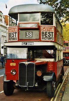 Last day of the Routemaster, 38 route, Yorkshire, England, United Kingdom, 1994, photograph by Sludge Gulper.