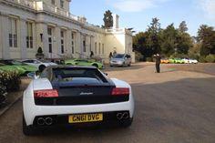 @David3man's pic of the @Lamborghini driving day @Stoke Park...