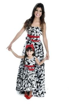 Mommy and Me Fashion / Matching Outfits Mom And Baby Outfits, Family Outfits, Little Girl Dresses, Girl Outfits, Girls Dresses, Mother Daughter Fashion, Mom Daughter, Mother Daughter Matching Outfits, Mom Dress