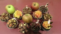 Why have toffee apples when you can have bonfire cupcakes!