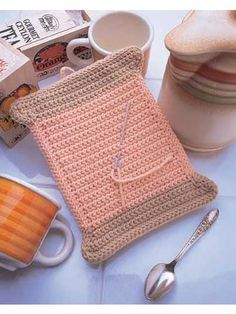 Spool of Thread Potholder free pattern
