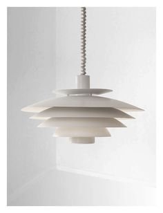 Beautiful Large danish vintage light by Form-Light Denmark