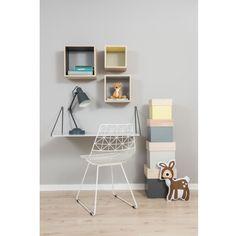 Sebra Kids Bedroom Furniture, Cool Furniture, Stackable Shelves, Childrens Desk, Kid Desk, Wooden Storage Boxes, Home Decor Inspiration, Decoration, Bookcase