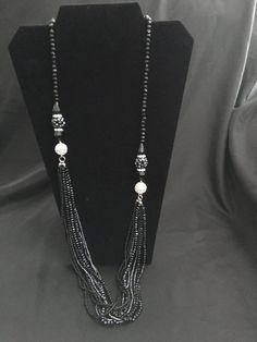 Park Lane Imagine Necklace Black Austrian Crystals #ParkLane