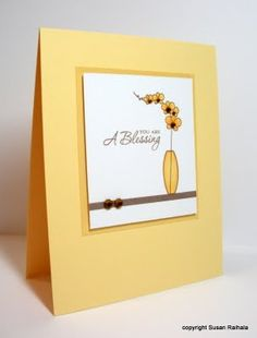 Lovely card by LateBlossom, using Gracious Vases (PTI)