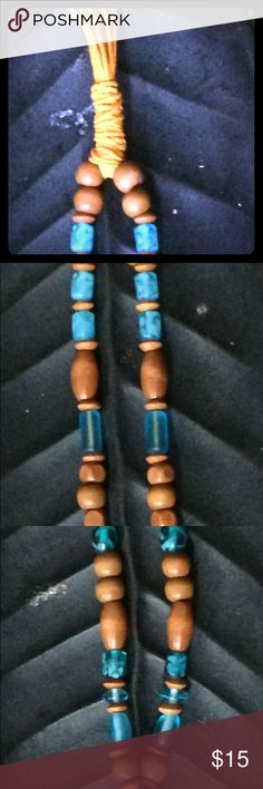 Handmade Beads Chanting wooden & Blue Colored  beads for prayer, Chanting, decor etc..... handmade with love specialized by me Miss. Brooks.     📿📿📿💕💕💕 Jewelry