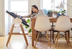 "Stokke Stories: ""I've never felt more like a sleepless robot, and I have also never felt more alive."" with Stokke Steps Bouncer + High Chair System"