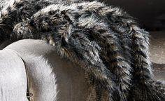 Shadow Mountain Furs - Faux Fur : Modern Fabrics, Unique Contemporary Designer Fabrics - Zinc Textile