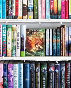 Happy Sunday Bookworms!! --- How about a little shelfie for this #shelfiesunday.  --- Middle Grade. #aprilbookstagram - Last month I started rereading the Percy Jackson series by Rick Riordan in hopes of finally moving on to his other Olympians series that I'm behind on. I'm really enjoying reading the books!! --- Currently Reading. #angiebookishapril #dreambunnybookishapril - Today I'm starting Alex Approximately by Jenn Bennett which is due to release in stores and online on Tuesday!! I've…