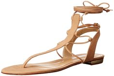 Schutz Women's Leona Flat Sandal -- Additional details at the pin image, click it  : Gladiator sandals