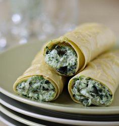 Photo de la recette : Cannelloni épinards ricotta