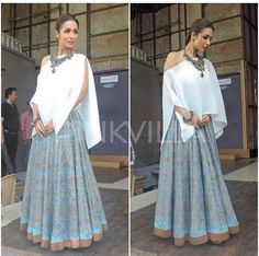 Payal Khandwala # Malaika Arora Khan # fusion Indian look#
