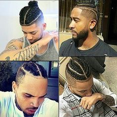 Omarion Braided Man Bun I Might Be My Hair Hair Styles Hair