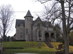 Delaware Arts Castle, Delaware, Delaware County, Ohio. I walked by this house every day when I was in elementary and middle school.